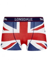 Бельё мужское Lonsdale 115255 Navy/Red/White
