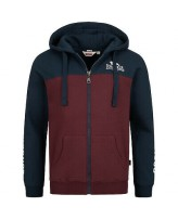 Реглан мужской Lonsdale 116036 Navy Oxblood