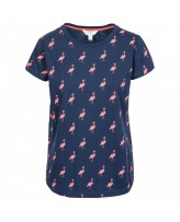 Футболка женская  Trespass FATOTSTR0002 Navy Flamingo
